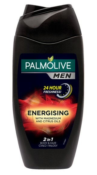 Palmolive dušigeel ja šampoon Men Red Energising 250 ml