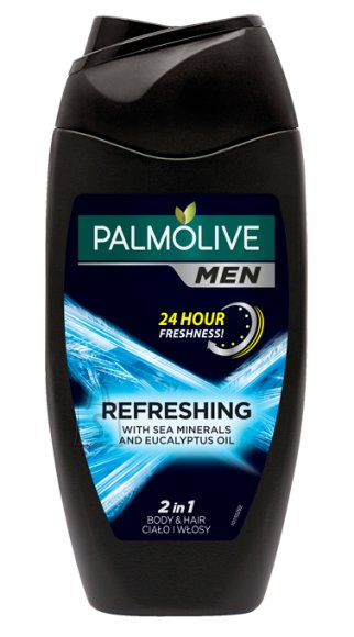 Palmolive 2in1 Men Blue Refreshing 250 ml
