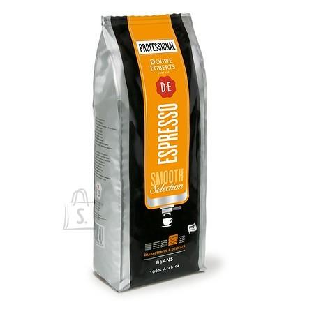 Douwe Egberts DE 1kg Espresso Smooth Select UTZ kohviuba