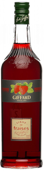 Giffard maasikamaitseline siirup 1 L