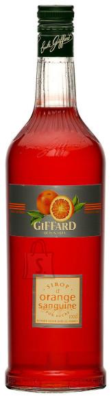 Giffard veriapelsini maitseline siirup 1 L