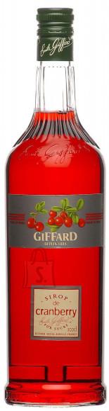 Giffard jõhvikamaitseline siirup 1 L