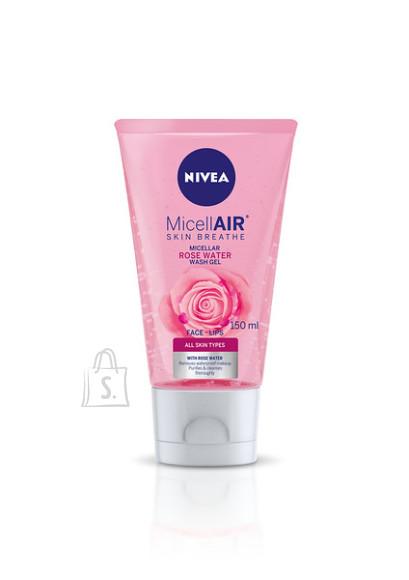 Nivea NIVEA MicellAIR Skin Breathe Roosiveega näopesugeel 150ml 82368