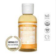 Dr. Bronner´s Citrus Orange Pure Castile Organic Soap - orgaaniline vedelseep, tsitrus
