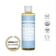 Dr. Bronner´s Baby Mild Pure Castile Organic Soap - orgaaniline 18-ühes lõhnatu vedelseep beebidele