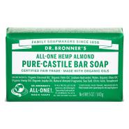 Dr. Bronner´s Almond Pure Castile Organic Bar Soap 140 gr - mandlilõhnaline orgaaniline tükiseep