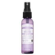 Dr. Bronner´s Organic Hand Sanitizing Spray 60 ml orgaaniline desinfitseeriv sprei, lavendliõliga