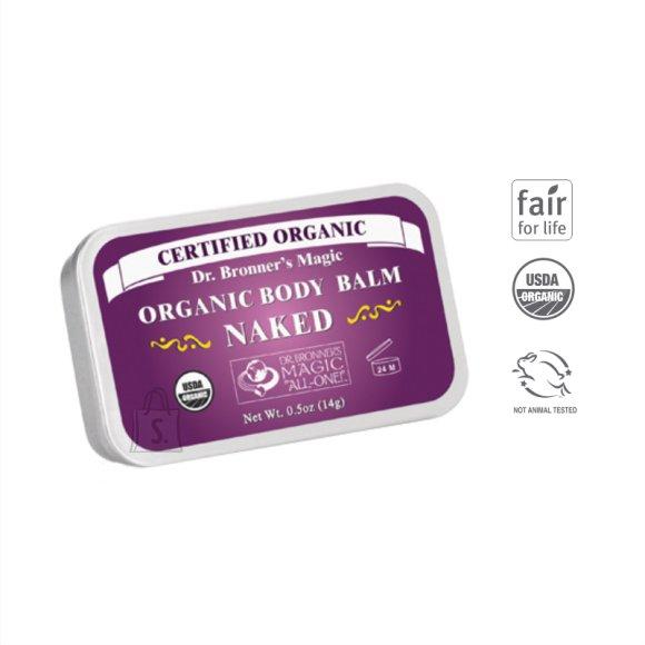 Dr. Bronner´s Naked organic Body Balm 14 g orgaaniline kehapalsam, lõhnatu