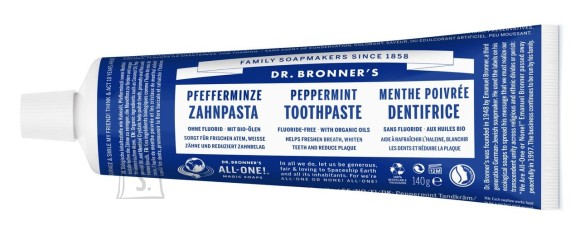 Dr. Bronner´s All-One Peppermint Organic Toothpaste 140 g
