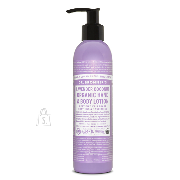 Dr. Bronner´s Lavender Coconut Organic Hand&Body Lotion 240 ml