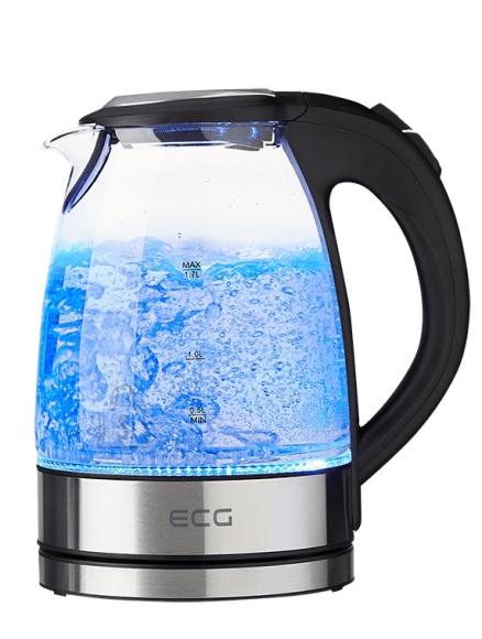 ECG RK 1776 Glass veekeetja 1.7L 2200W