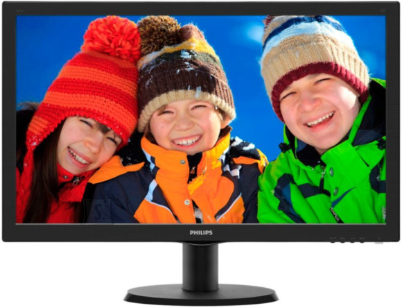 "Philips 23.6"" 243V5LHSB/00 FHD LED monitor"