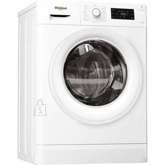 Whirlpool FWDG86148W eestlaetav pesumasin kuivatiga 1400 p/min