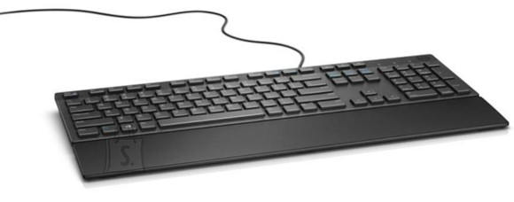 Dell Dell Multimedia Keyboard-KB216 - US International (QWERTY) - Black (RTL BOX)