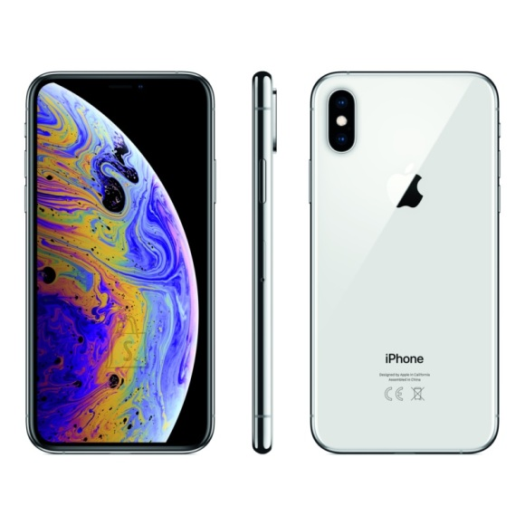 "Apple iPhone XS 64GB / 5.8"" Super Retina HD/ Silver"