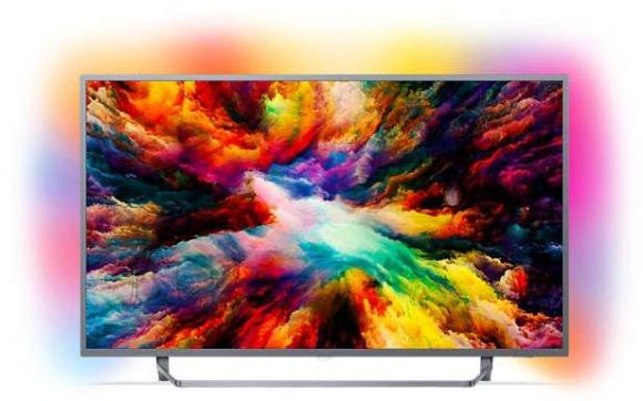 Philips 7300 Android TV UHD LED teler 55""