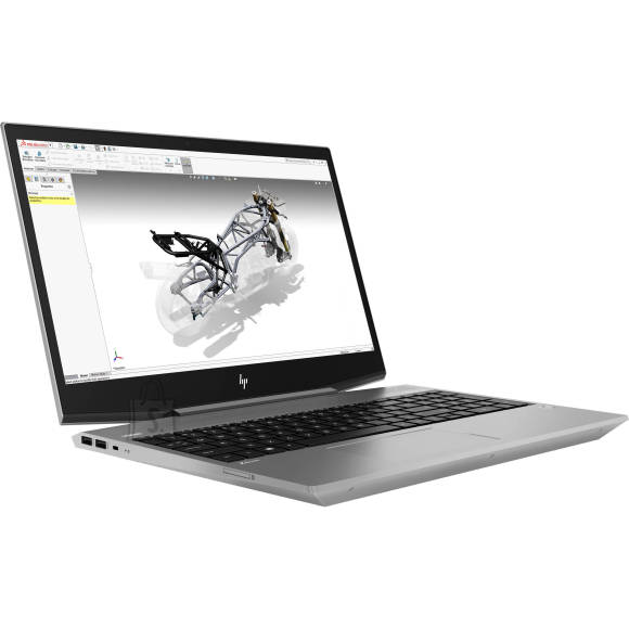 HP HP ZBook 15v G5 - i5-8400H, 8GB, 256GB SSD, 15.6 FHD AG, FPR, US backlit keyboard, Win 10 Pro, 1 years