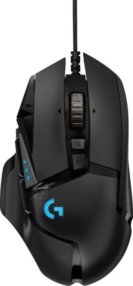 Logitech Logitech G502 HERO, wired gaming mouse, black
