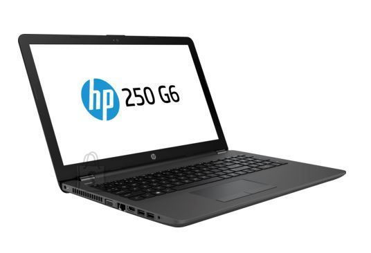 HP HP 250 G6 - i5-7200U, 8GB, 256GB SSD, 15.6 HD AG, US keyboard, Dark Ash, DOS, 2 years
