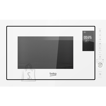 Beko BEKO Microwave MGB25333WG, 900W, 25L, BUILT-IN, Auto-weight Defrost, White/White color