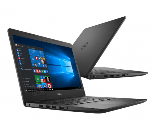 "Dell Dell Vostro 3480 (i3-8145U 3.9Ghz, 4GB, 128GB NVMe SSD, 14"" FHD, Intel UHD 620, FPR, Cam & Mic, WLAN + BT, US keyboard, 3 Cell, W10 Home, 3yr)"
