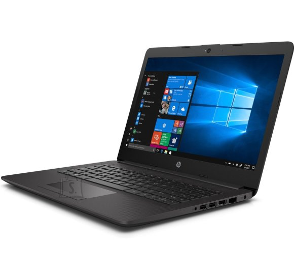 HP HP 240 G7 - i3-7020U, 4GB, 128GB SSD, 14 HD AG, US keyboard, Dark Ash, Win 10 Home, 2 years