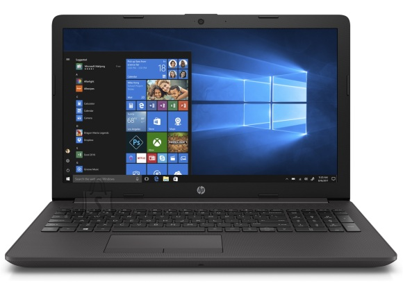 HP HP 250 G7 - i3-8130U, 4GB, 256GB NVMe SSD, 15.6 HD AG, US keyboard, DVD-RW, Dark Ash, DOS, 2 years