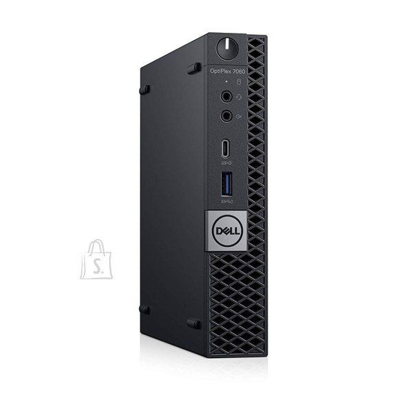 Dell Dell Optiplex 3070 MFF/Core i3-9100T/8GB/256GB SSD/Intel UHD 630/WLAN + BT/Estonian Kb/W10Pro/3yrs
