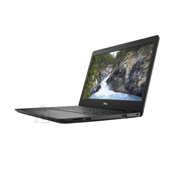 "Dell Dell Vostro 3481/Core i3-7020U/4GB/1TB/14.0"" HD/Intel UHD 620/FgrPr/Cam & Mic/No optical drive/WLAN + BT/US Kb/3 Cell/W10Home/3yrs"