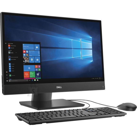 "Dell Dell Optiplex 5270 AIO/Core i5-9500/8GB/256GB SSD/21.5"" FHD/Intel UHD 630/Adj Stand/Cam & Mic/DVD RW/WLAN + BT/US Kb & Mouse/W10Pro/3yrs"