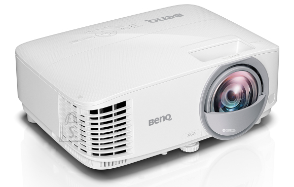 BenQ MX808ST White DLP 3D Ready XGA 1024x768 3000 Lumens 20'000:1 2xVGA/1xHDMI SPK 2W Lamp 200W 5000/10'000/15'000 hours 2.6KG