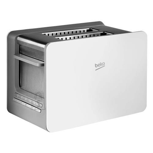 Beko BEKO Toaster TAM6202W, 870W, 7 settings, defrost, preheat and stop functions, White color
