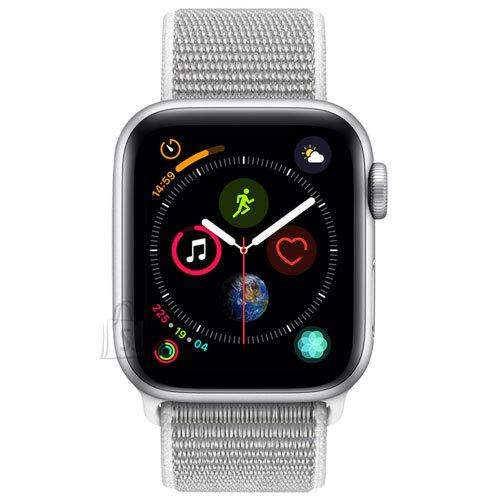Apple Apple Watch Series 4 GPS, 40mm Silver Aluminium Case with Seashell Sport Loop
