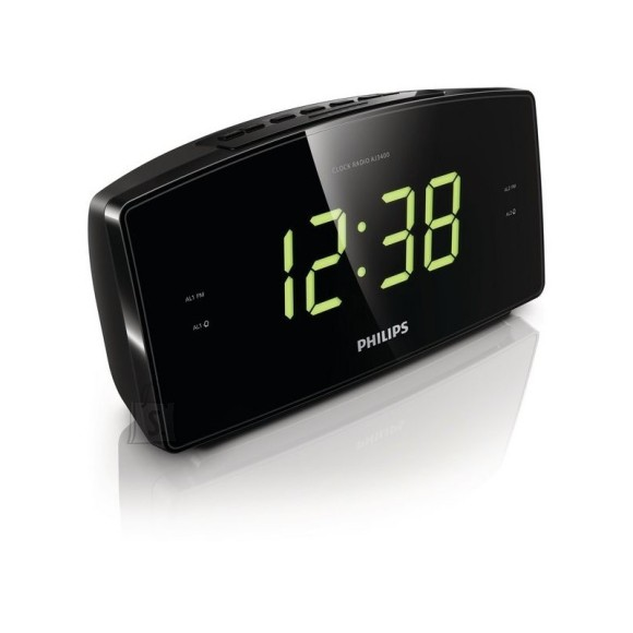 Philips Philips Clock Radio AJ3400 Big display FM, Digital tuning Dual alarm Time & alarm backup.