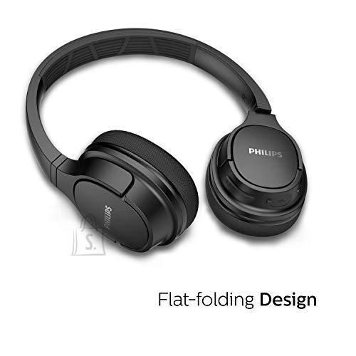 Philips Philips ActionFit wireless headphones TASH402BK/00, Sweat/waterproof, Cooling ear cups, 20h play time, Quick charge, On-ear