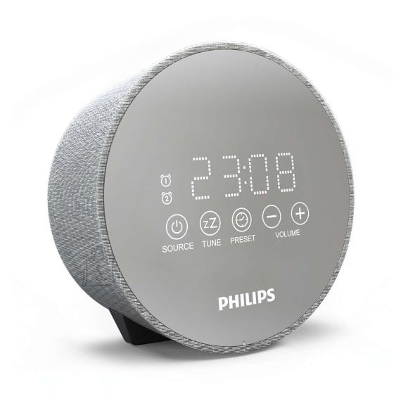 Philips Philips Clock Radio TADR402/12 Gentle wake, Dual alarm function, Night light, USB port