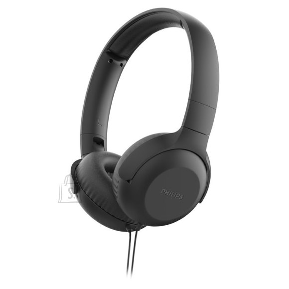 Philips Philips Headphones with mic TAUH201BK 32 mm drivers/closed-back On-ear Lightweight headband