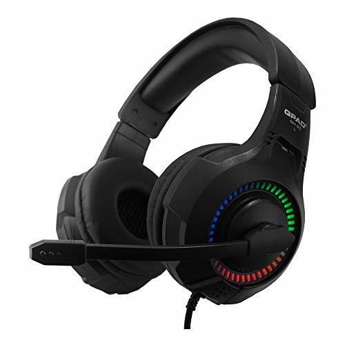 Mänguri kõrvaklapid QH-20 RGB Stereo