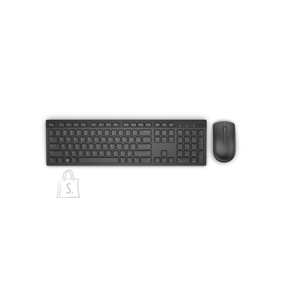 Dell Dell Wireless Keyboard and Mouse-KM636 - UK (QWERTY) - Black