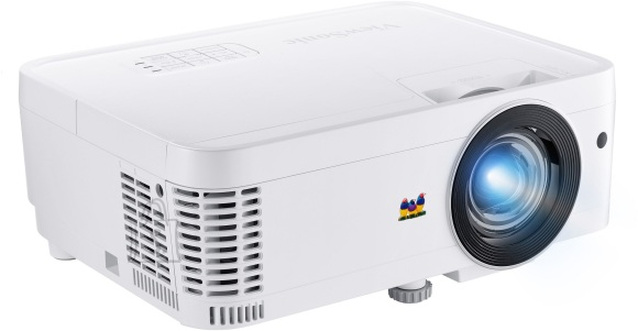 ViewSonic XGA (1024x768), 3500 lumens, SHORT THROW, 5,000/15,000 LAMP life, exclusive SuperColor technology