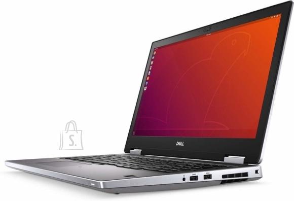 """Dell DELL Precision 7740 (i9-9880H 4.8Ghz, 17"""" FHD 1920x1080, 16GB, M.2 512GB SSD, Nvidia Quadro RTX 4000 w/8GB GDDR6, Nordic KB, Win 10 Pro, 3yrs)"""