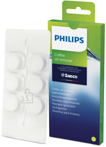 Philips Philips Coffee oil remover tablets CA6704/10 Same as CA6704/60 For 6 uses