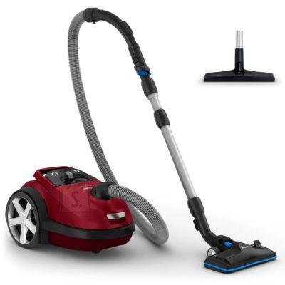 Philips Philips Performer Silent Vacuum cleaner with bag FC8781/09 Allergy filter 66 dB for quiet vacuuming 12m radius
