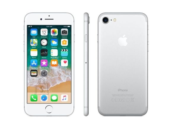 Apple Apple iPhone 7 32GB Silver/Refurbished