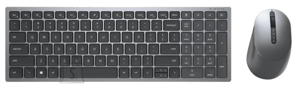 Dell Dell Multi-Device Wireless Keyboard and Mouse - KM7120W - US International (QWERTY)