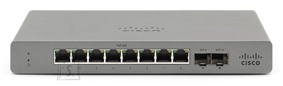 Cisco Meraki Go - 8 Port POE Switch - EU Power