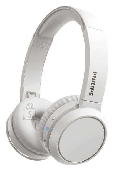 Philips PHILIPS Wireless On-Ear Headphones TAH4205WT/00 Bluetooth®, Built-in microphone, 32mm drivers/closed-back, White