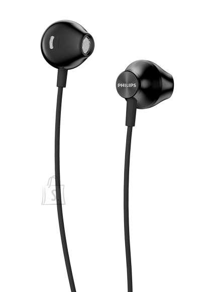 Philips PHILIPS In-Ear Headphones TAUE100BK/00 14.2mm speaker drivers, Black