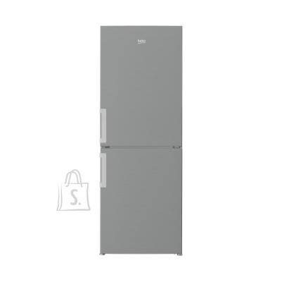 Beko BEKO Refrigerator CSA240K31SN 153cm, Energy class F (old A+), Inox