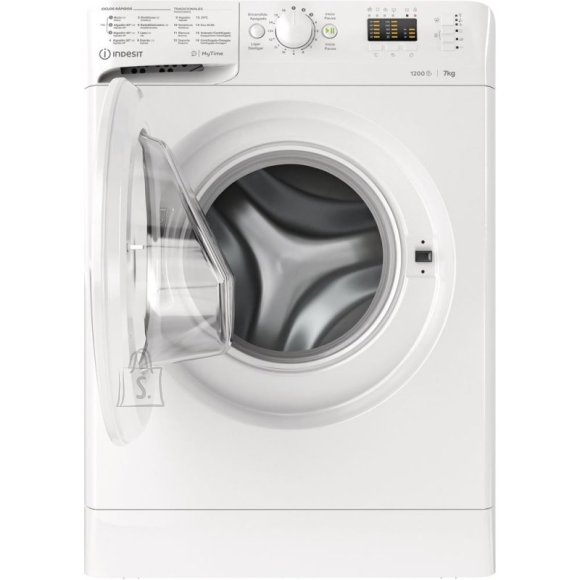 Indesit INDESIT Washing machine MTWA 71252 W EE, 7 kg, 1200rpm, Energy class E (old A+++), 54cm, White